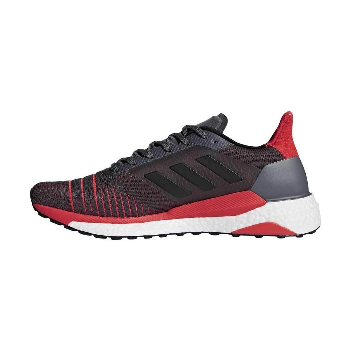 classic fit c18f0 49b0b ... Adidas Solar Glide OI18 Gris Rojo Hombre ...