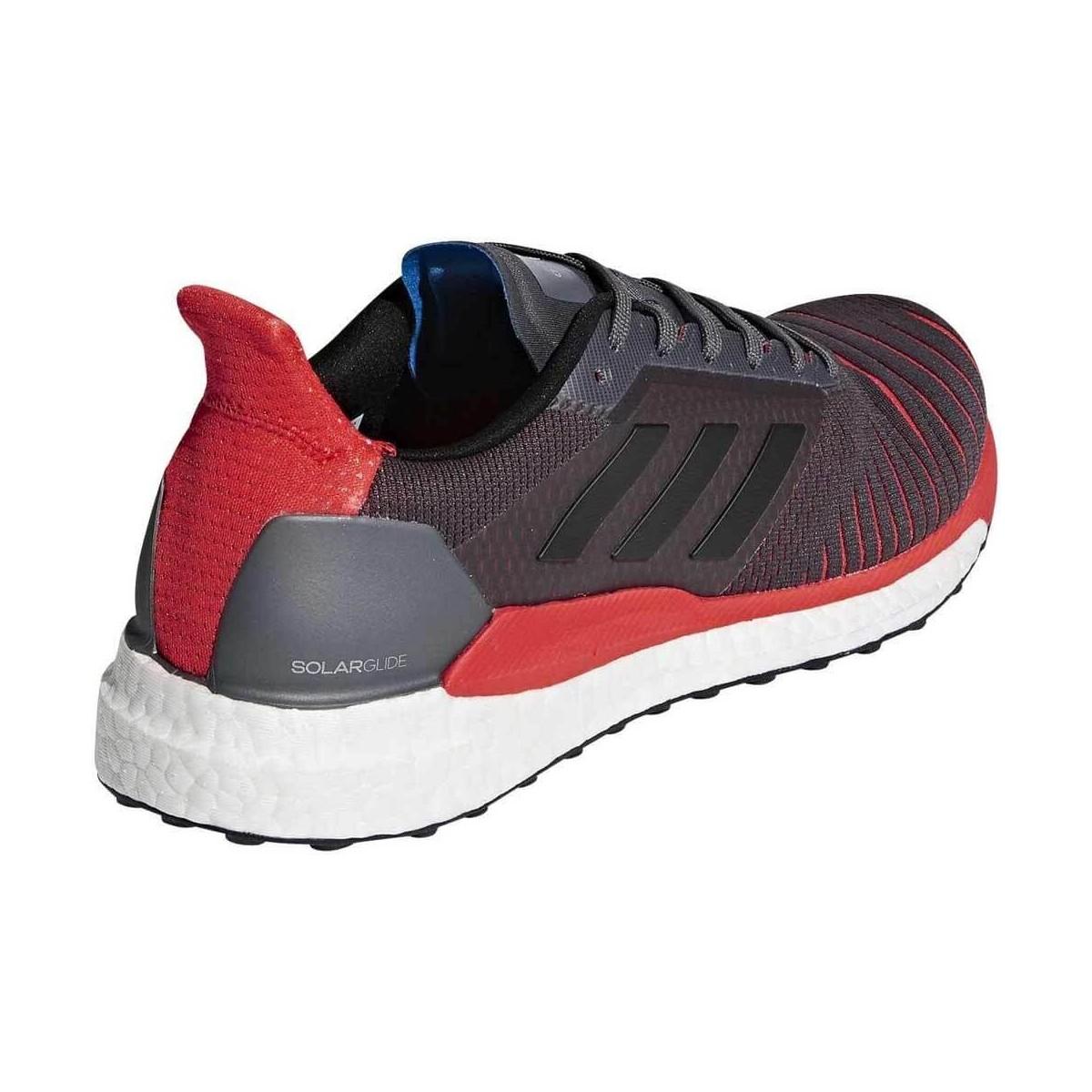 classic fit 273ec 7b47d ... Adidas Solar Glide OI18 Gris Rojo Hombre ...