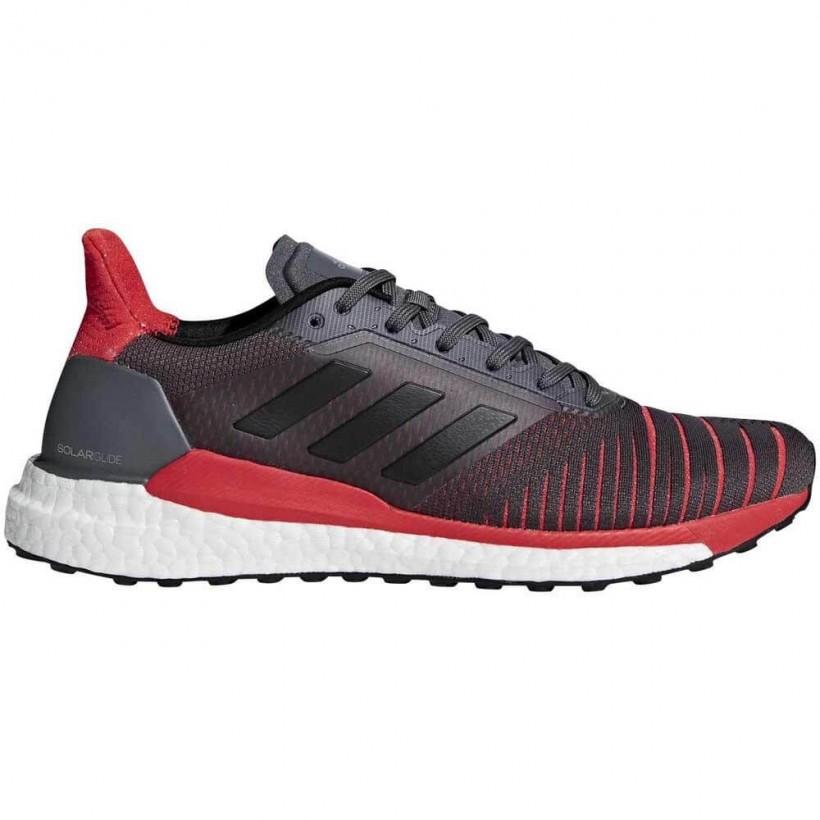 check out 2a329 18245 Adidas Solar Glide OI18 Gris Rojo Hombre