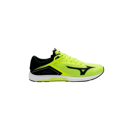 Zapatillas Mizuno Wave Sonic Men's Running Shoes Yellow Black 365 Rider