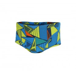 Zone3 Prism Brief 2.0 Swimsuit Blue Yellow