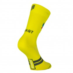 Calcetín Sporcks Beast Mode Yellow