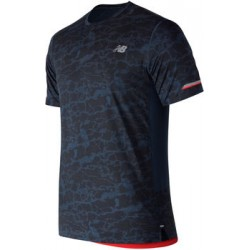 Camiseta New Balance MC Ice OI18 Azul Printed