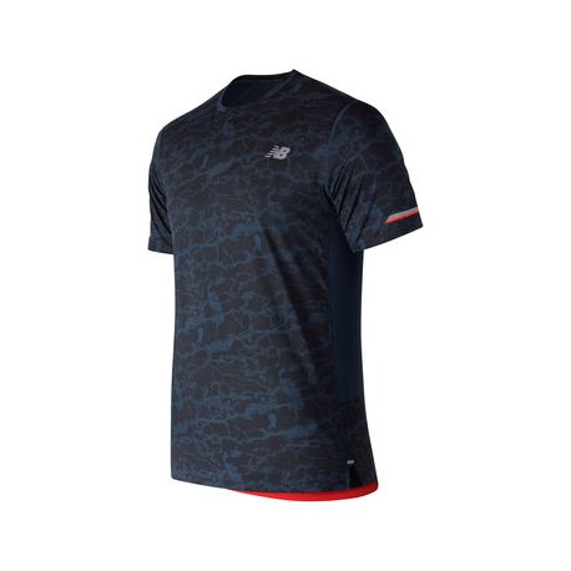 Camiseta New Balance MC Ice OI18 Azul Printed