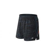 Pantalon Corto New Balance Printed Impact 5 OI18 Hombre