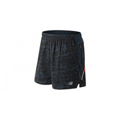 Pantalon Corto New Balance Printed Impact 5in OI18 Hombre