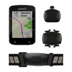 Garmin EDGE 520 PLUS Pack- Ciclocomputador con GPS