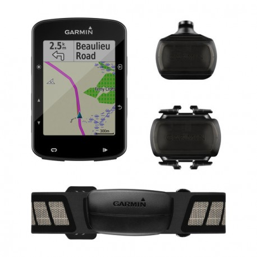 Garmin EDGE 520 PLUS Pack- Ciclocomputador con GPS