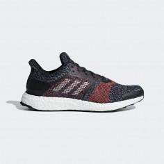 Zapatillas Adidas Ultra Boost ST OI18 Azul Negro y Rojo Hombre