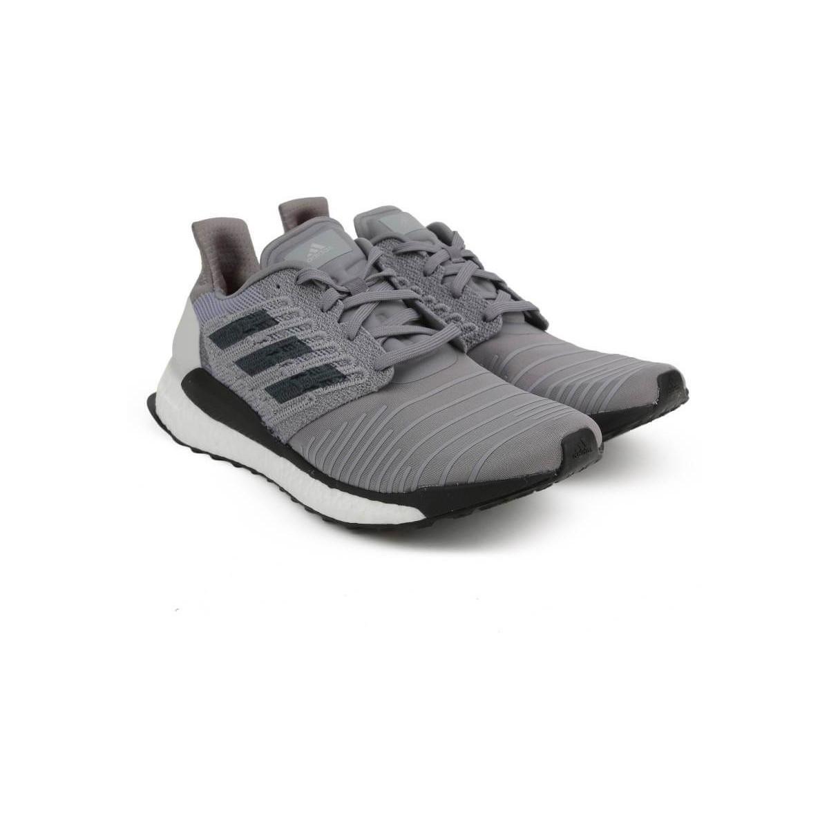 29d866459ed Zapatillas Adidas Solar Boost Gris Negro Blanco OI18