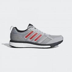 Zapatillas Adidas Adizero Tempo 9 Hombre OI18 Gris Rojo Carbon