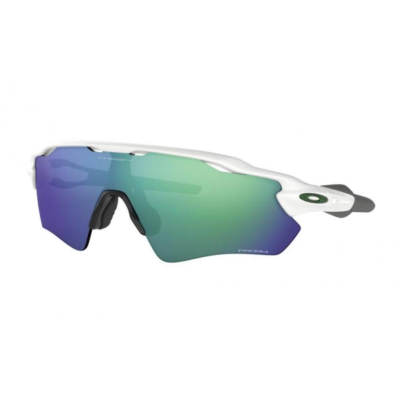 Gafas Running Oakley RADAR EV PATH Prizm Team Colors Polished White Prizm Jade Iridium