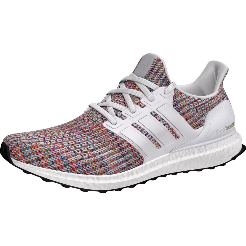 bf92af661043 Adidas Ultra Boost White Multi-Color FW18 Man Running shoes