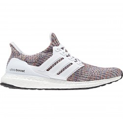 423689f3293 Adidas Ultra Boost White Multi-Color FW18 Man Running shoes