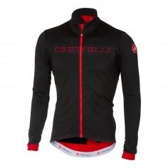 Maillot Castelli Fondo FZ Negro y Rojo
