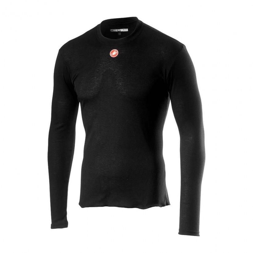 Camiseta Interior Castelli Prosecco R manga larga negro