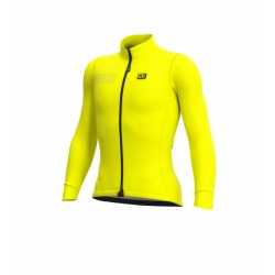 Maillot Manga Larga Alé Color Block Amarillo Fluo OI18
