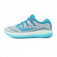 Zapatillas Saucony Triumph ISO 5 Azul/Blanco Mujer OI18