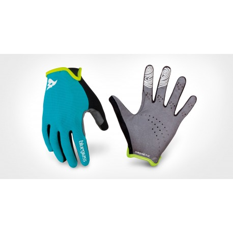 Guantes ciclismo Bluegrass Magnete Lite Cían