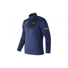 Camiseta Manga Larga New Balance Heat HZ New York Marathon Hombre Azul OI18