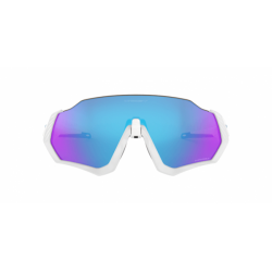 Gafas Oakley Flight Jacket Blanco Mate Prizm Zafiro Iridium