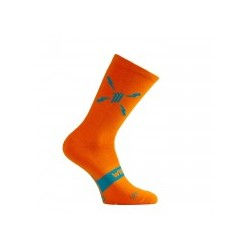 Calcetín Sporcks Allos Orange Merino