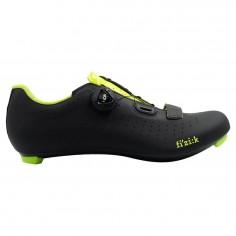 Fizik Tempo R5 Overcurve Shoes Black / Fluo Yellow