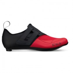 Zapatillas Fizik Transiro R4 Powerstrap Negro Rojo