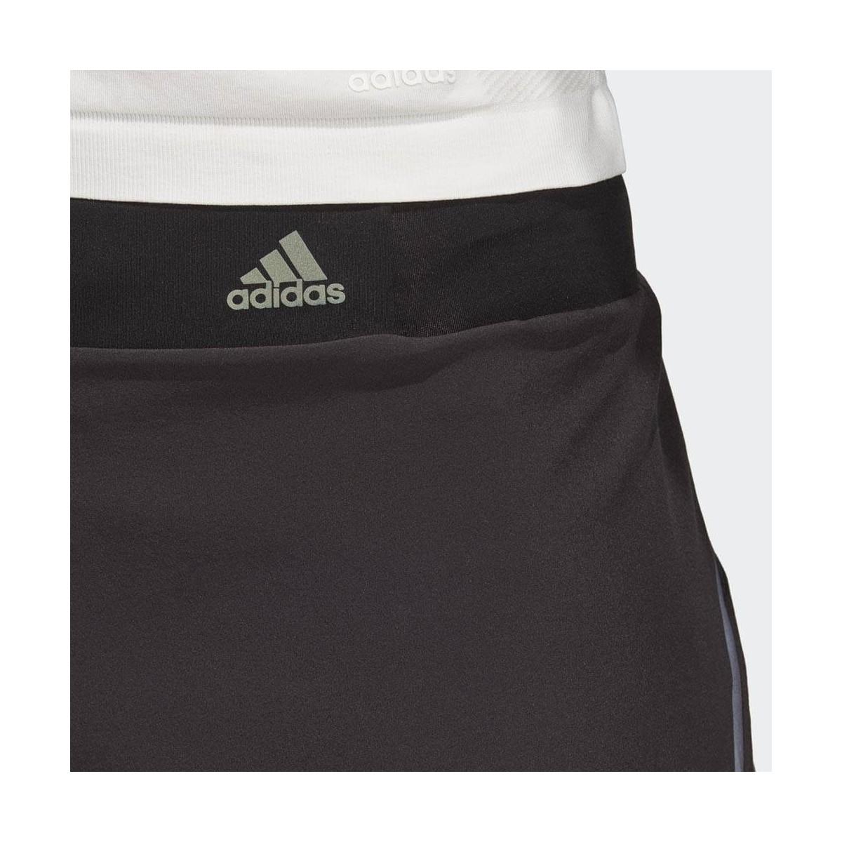 33f2052e8 Pantalon corto runnning Adidas Saturady Short Mujer negro - 365 Rider