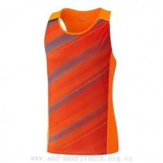 Camiseta Mizuno Premium Aero Singlet Color Naranja