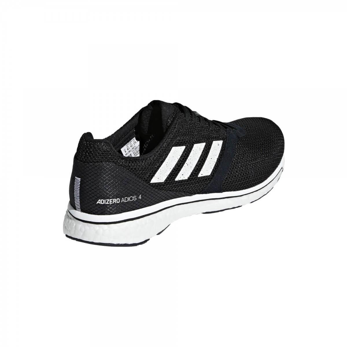 super popular 7e95b 07e15 ... Zapatillas Adidas Adizero Adios 4 m Negro Blanco PV19 ...