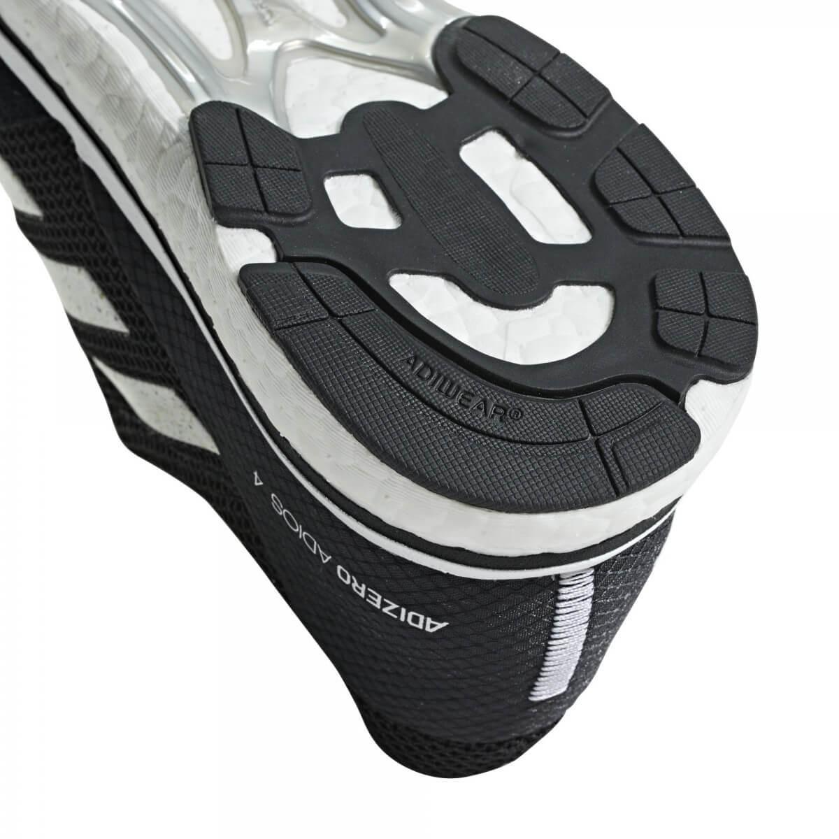 super popular ce907 f752e ... Zapatillas Adidas Adizero Adios 4 m Negro Blanco PV19 ...