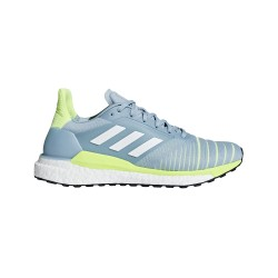 Adidas Solar Glide Gris Amarillo Fluo PV19 Mujer