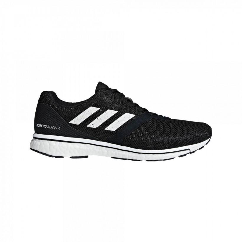 best website 38ccf da96e Zapatillas Adidas Adizero Adios 4 m Negro Blanco PV19 - 365 Rider
