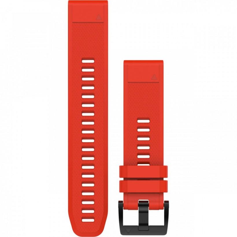 Banda de Reloj Garmin Quickfit 22 Watch Band Silicona Rojo