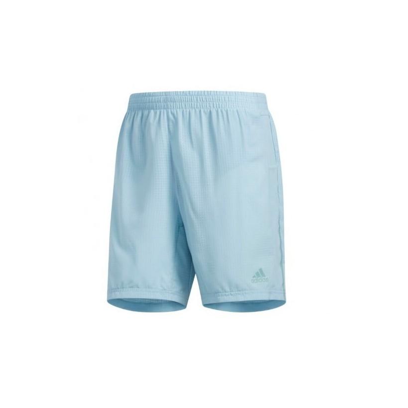 """Pantalón corto Adidas Supernova Short 5"""" azul turquesa OI18"""