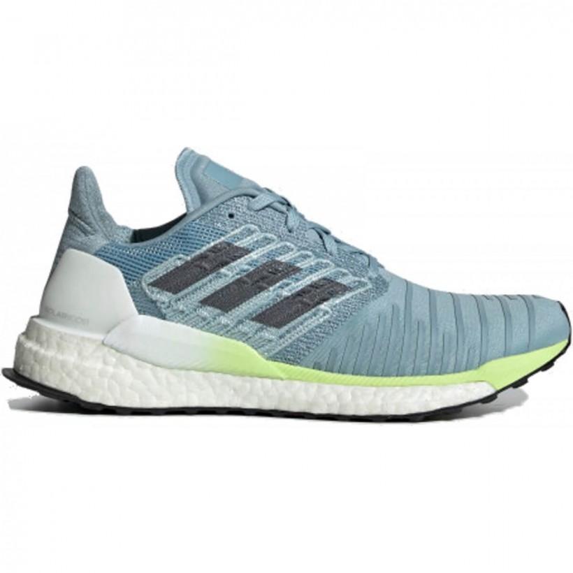 bien conocido comprar bien gama completa de especificaciones Zapatillas Adidas Solar Boost Azul Turquesa Blanco Lima PV19 Mujer - 365  Rider