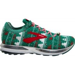 Zapatillas Brooks Levitate 2 Ugly Sweater Verde/Blanco/Rojo OI18