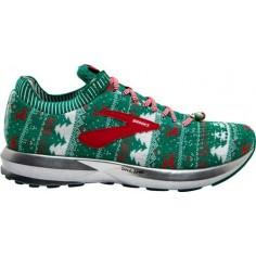 Zapatillas Brooks Levitate 2 Ugly Sweater Verde/Blanco/Rojo OI18