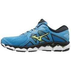 Zapatillas Mizuno Wave Sky 2 Azul, verde, negro Hombre PV19