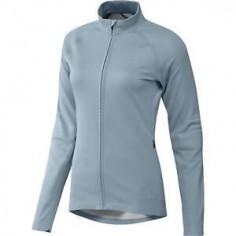 Chaqueta Adidas PHX Técnica de Running para mujer azul claro
