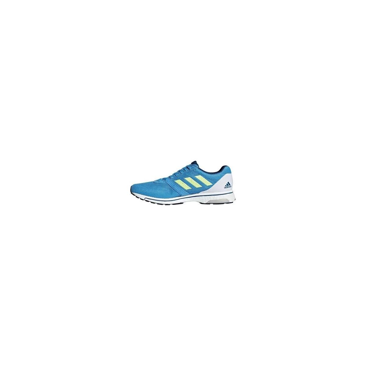 Zapatillas Adidas Adizero Adios 4 m Azul Blanco Lima PV19