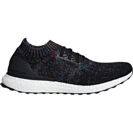 Ilustrar extraño Desconexión  Adidas Ultra Boost Uncaged Black Red Blue