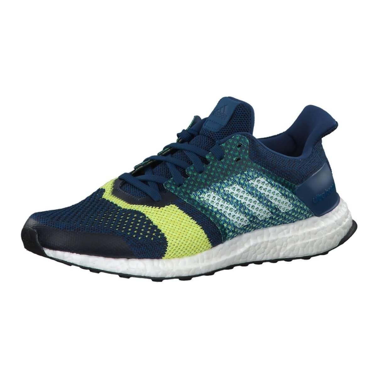 new products f7640 b7018 ... Zapatillas Adidas Ultra Boost ST Hombre Azul Amarillo Verde PV19 ...