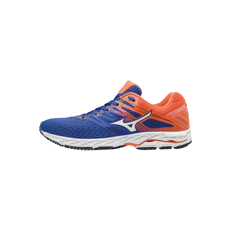huge selection of 67781 6c74b Zapatilla Mizuno Wave Shadow 2 Azul Naranja PV19