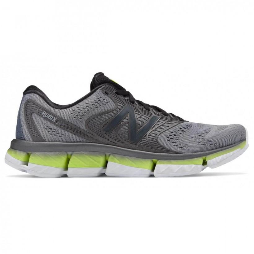 Arenoso Sumergido académico  New Balance Rubix V1 Men's Running Shoes Grey Lime