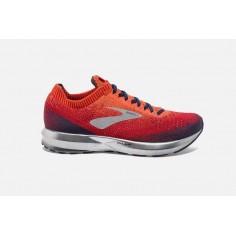 Zapatillas Brooks Levitate 2 Naranja Rojo Azul Marino PV19