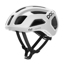 Casco POC Ventral AIR SPIN Hydrogen White Raceday (Blanco)