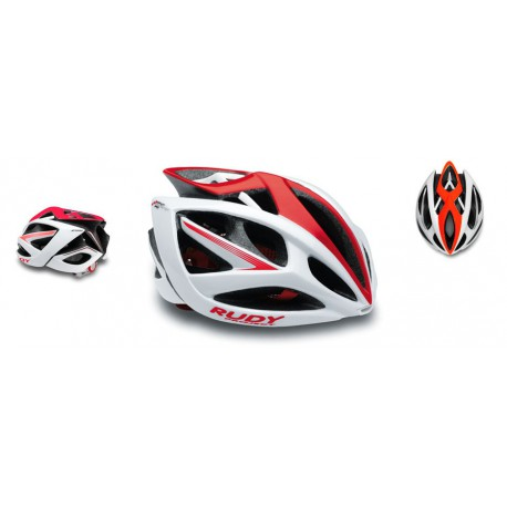Casco Rudy Project Airstorm Rojo/blanco