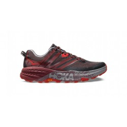 Zapatillas Trail Hoka One One SpeedGoat 3 Negro Gris Granate Pavement/Port PV19 Hombre